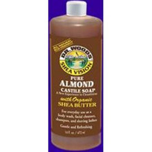 Almond w/Shea Butter, 32 OZ, Dr. Woods Soaps
