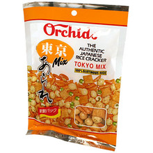 Rice Crackers Tokyo Mix 3.0 oz  From Orchids