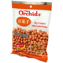Rice Cracker w/ Peanuts 4.8 oz  From Orchids