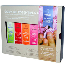 Body Oil Essentials Kit, 1 KIT, Weleda Products