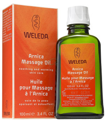Arnica Massage Oil, 3.4 OZ, Weleda Products