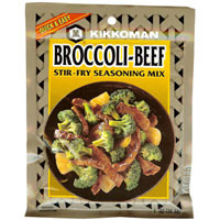 Broccoli-Beef Seasoning Mix  From Kikkoman