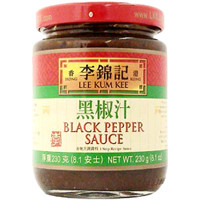 LKK Black Pepper Sauce 8.1 oz  From Lee Kum Kee