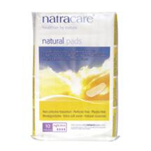 Cool Comfort Pads, Night Time, 12 of 10 CT, Natracare