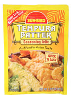 Sun Bird Tempura Batter  From Sun Bird