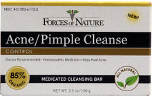 Acne/Pimple Cleanse, 3.5 OZ, Forces Of Nature