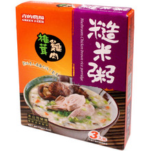 Green Farm Mushroom Chicken Brown Rice 2.60 oz  From AFG