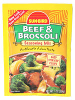 Sun Bird Beef & Broccoli  From Sun Bird