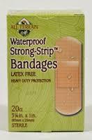 Bandages, Waterproof, 20 CT, All Terrain