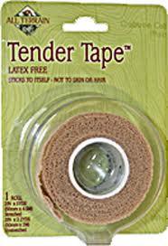 Tender Tape, 2 Inch, 5 YD, All Terrain