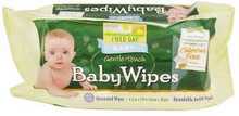 Baby Wipes, Refill, 12 of 72 CT, Field Day