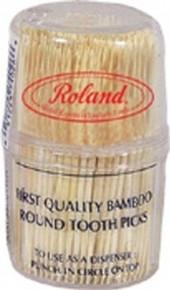 Bamboo Toothpicks, 12 of 300 CT, Roland