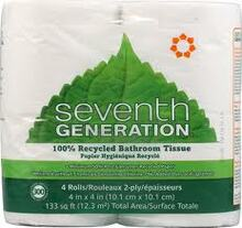 Bath Tissue, 100% Recycled, 12 of 4 of 300 CT, Seventh Generation