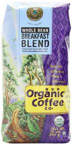 Breakfast Blend, 6 of 12 OZ, Organic Coffee Co.