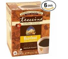 Hazelnut, 6 of 10 BAG, Teeccino