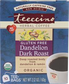 Dandelion Dark Roast, 6 of 10 BAG, Teeccino