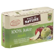 Apple, 40 of  6 OZ, Back To Nature