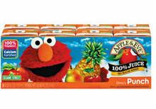 Elmo's Fruit Punch, 40 of  125ML, Apple & Eve