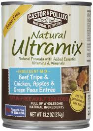 Beef Tripe/Chicken/Green Peas, 12 of 13.2 OZ, Castor & Pollux