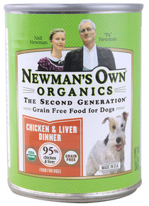 Chicken, Grain Free, Canned, 12 of 12.7OZ, Newman'S Own Organics