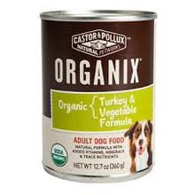 Turkey & Chicken Canned DOG, 12 of 12.7 OZ, Castor & Pollux