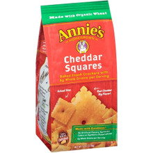 Cheddar Squares 9 of 6 OZ By ANNIE`S HOMEGROWN
