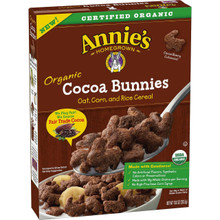 Cocoa Bunnies 10 of 10 OZ By ANNIE`S HOMEGROWN