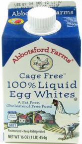 100% Liq Egg Whites Cage Free 12 of 16 OZ Abbotsford Farms