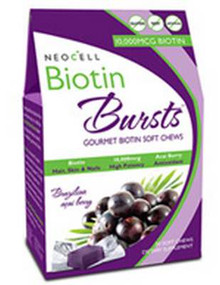 Biotin Burst Acai Berry Sft Chw 30 CT NEOCELL CORPORATION