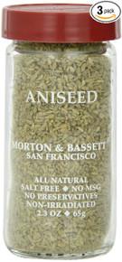 Aniseed 3 of 2.3 OZ By MORTON & BASSETT