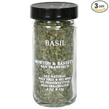 Basil 3 of .4 OZ By MORTON & BASSETT