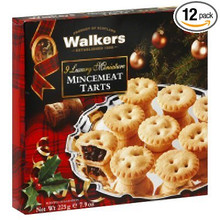 Mini Mincemeat Tarts 12 of 7.9 OZ By WALKER`S SHORTBREAD