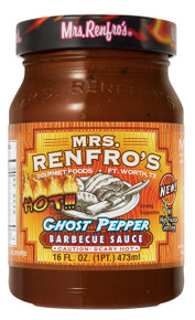 BBQ,Ghost Pepper,Scary Hot 6 of 16 OZ By MRS RENFRO`S