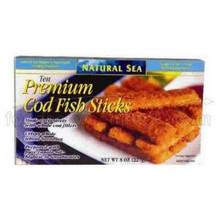 Cod Sticks Multigrain MSC 12 of 8 OZ NATURAL SEA