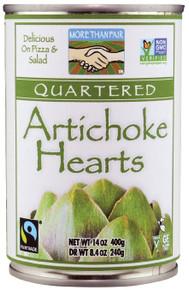Artichoke Hearts Quartered 6 of 14 OZ By MORE THAN FAIR