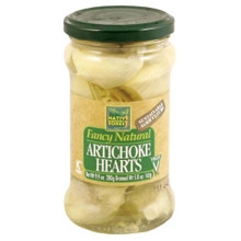 Artichoke Hearts Whole 6 of 9.9 OZ From NATIVE FOREST