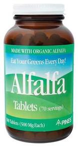 Alfalfa Tablets 500 TAB PINES INT`L