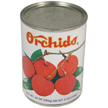 Orchids Lychee in Syrup 20 oz  From Orchids