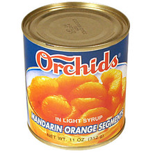 Orchids Mandarin Oranges 11 oz  From Orchids