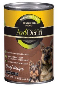 Beef Recipe Small Dog 6 of 4 LB By AVODERM NATURAL
