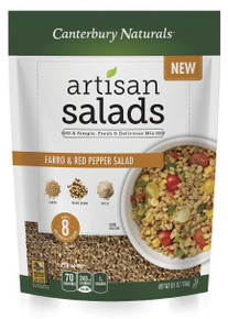 Farro & Red Pepper Salad 6 of 6.5 OZ By CANTERBURY NATURALS