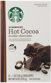 Hot Cocoa Double Chocolate 6 of 8 of 1 OZ From STARBUCKS COFFEE