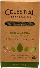 Loose Leaf Gen Mai Cha 6 of 2.6 OZ By CELESTIAL SEASONINGS