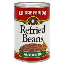 Beans Authentic Flavor 24 of 16 OZ By LA PREFERIDA