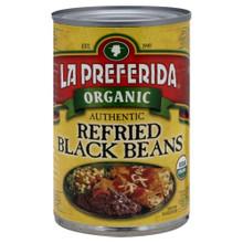 Authentic Refried Black 12 of 15 OZ From LA PREFERIDA