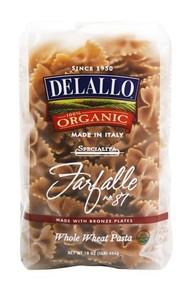 Farfalle #87 Whole Wheat 16 of 16 OZ From DE LALLO