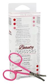Beauty Scissors Pink 1 CT By EARTH THERAPEUTICS LTD.