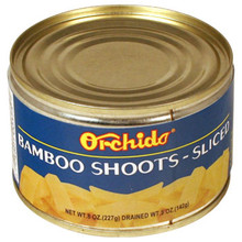 Orchids Bamboo Shoots Sliced 8 oz  From Orchids