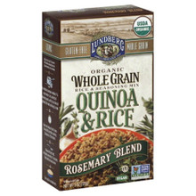 Quinoa & Rice Rosemary Blend 6 of 6 OZ From LUNDBERG FAMILY FARMS
