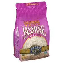 California White Jasmine Rice Gluten Free 12 Pack 32 oz (907 g) From Lundberg